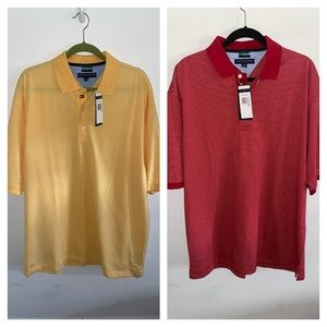 2 - NWT Tommy Hilfiger Golf Techno-Dry Polo Shirts
